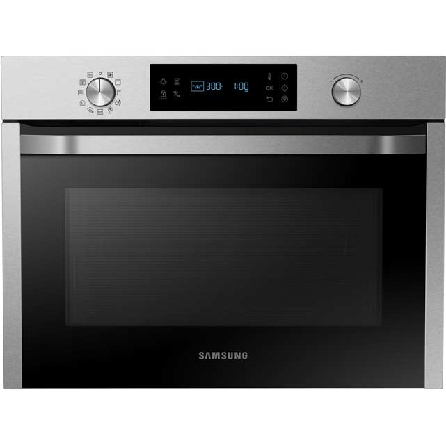 Samsung NQ50J3530BS Built In Compact Electric Single Oven with Microwave Function - Stainless Steel