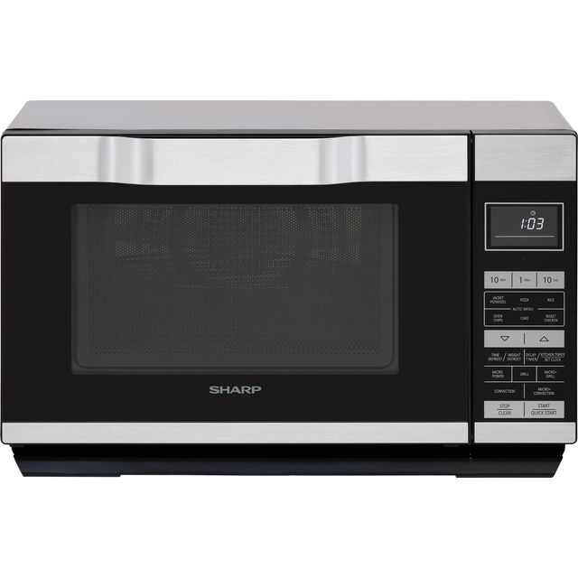 Sharp I series R861KM 25 Litre Combination Microwave Oven - Silver / Black