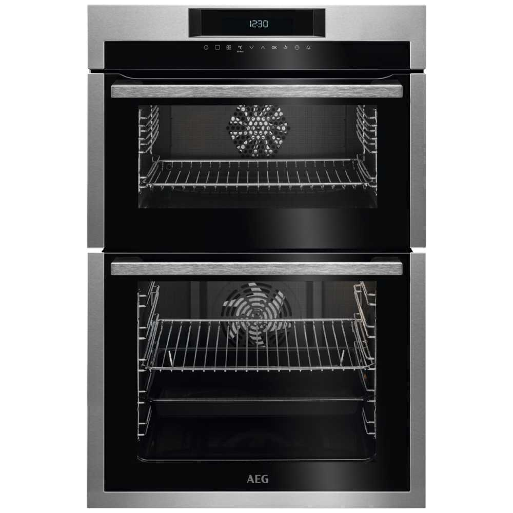 AEG DCE731110M Built In Multifunction Double Oven - STAINLESS STEEL