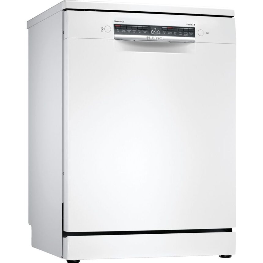 BOSCH Serie 4 SMS4HDW52G Full-size WiFi-enabled Dishwasher - White, White